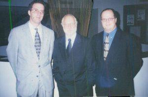 John B with Richard Dreyfuss