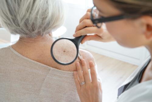 dermatology examination