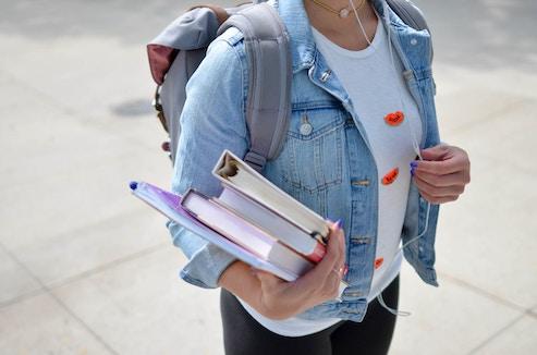 teenage college student