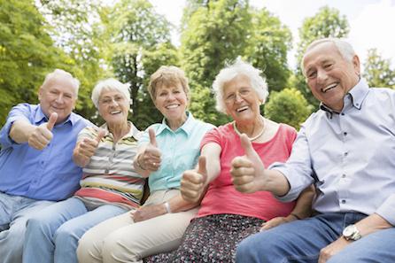 seniors enrolled in health insurance
